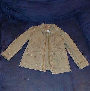 🌼 GAP(baby) utility jacket toddler girls size 3t
